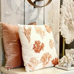 Cushion with corals