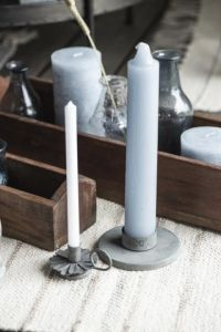Rustic candle pink XL 1 each