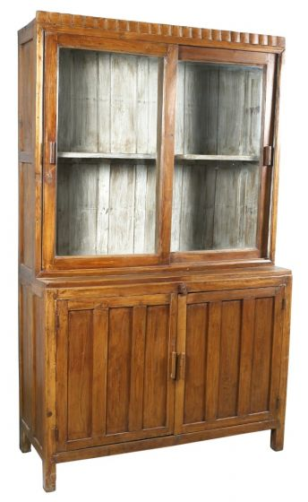 Reclaimed Showcase Cabinet