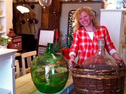Mirjam, owner of De Weldaad