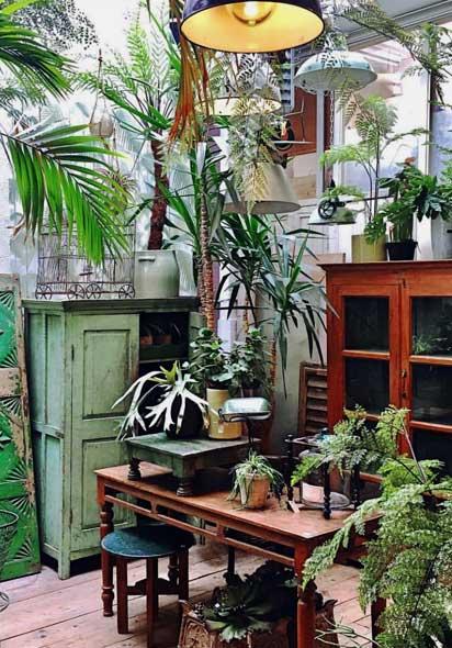 Interior of De Weldaad Shop Noordermarkt Amsterdam